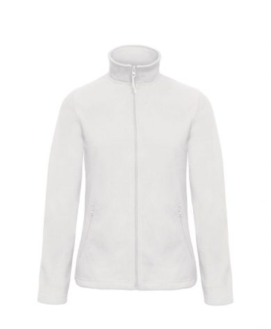 Mikina dámská B&C Micro Fleece - bílá, S