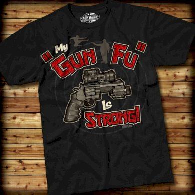 Triko 7.62 Design Gun-Fu - černé, S
