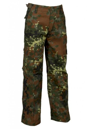 Kalhoty dětské Anton Ranger - flecktarn, S