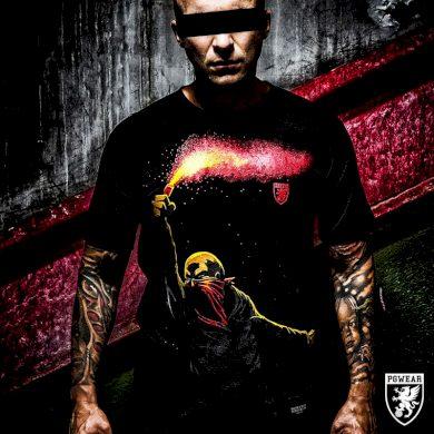 Triko PGwear Flare - černé, 3XL