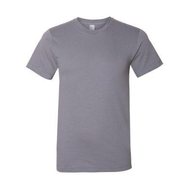 Triko American Apparel Fine Jersey - světle šedé, L