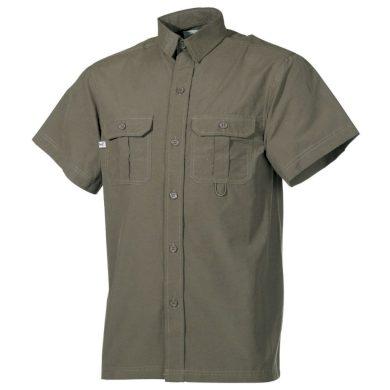 Košile Fox Outdoor - olivová, XXL
