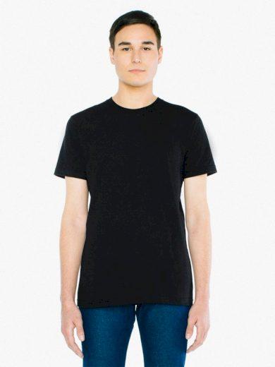 Triko American Apparel Fine Jersey - černé, L