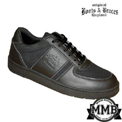 Kožené boty Boots & Braces Sneaker - černé, 11