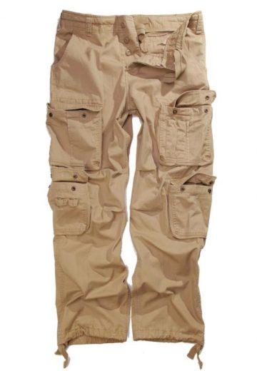 Kalhoty Anton US Vintage - béžové, XS