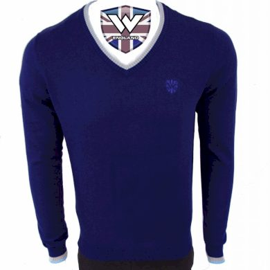 Svetr pletený Warrior Vintage Top Trim - modrý, 3XL