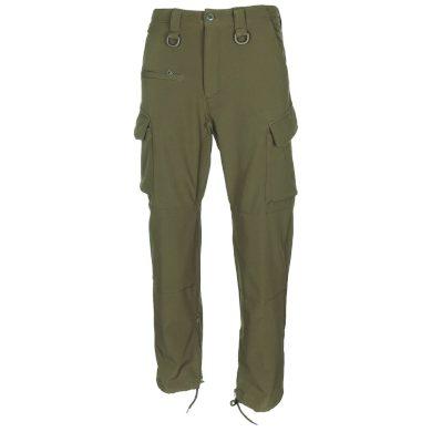 Kalhoty MFH Softshell Allround - olivové, S