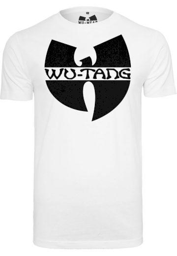 Triko Wu-Wear Logo - bílé, XL