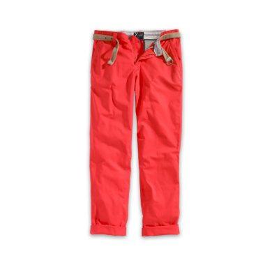Kalhoty Xylontum Chino Trousers - červené, M