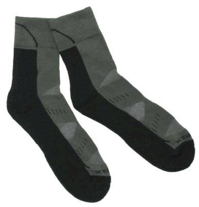 Ponožky trekingové Fox Arber - olivové-černé, 39-41