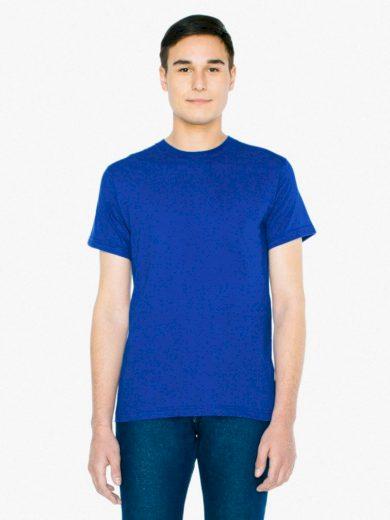 Triko American Apparel Fine Jersey - modré, M