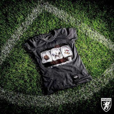 Triko dámské PGwear Soul Of Football - šedé, XL