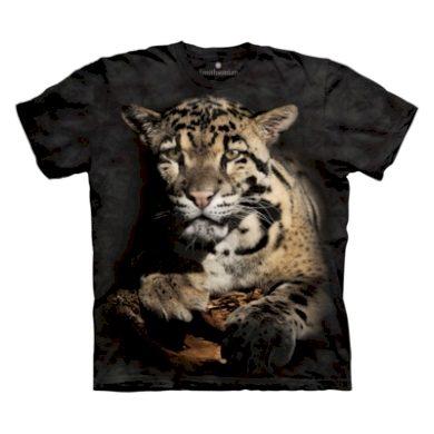 Tričko dětské The Mountain Clouded Leopard - šedé, S