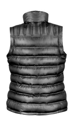 Dámská prošívaná vesta Result Ice Bird - černá, XL