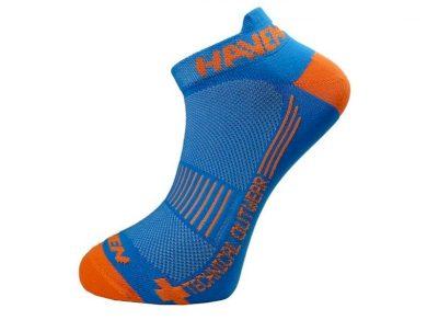 Ponožky Haven Snake Neo 2 ks - modré-oranžové, 1-2