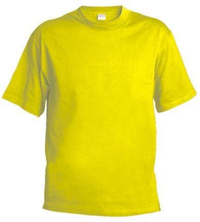 Pánské tričko Xfer 160 - žluté, L
