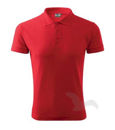Polokošile Adler Pique Polo - červená, L