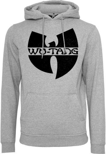Mikina s kapucí Wu-Wear Logo Hoody - šedá, S