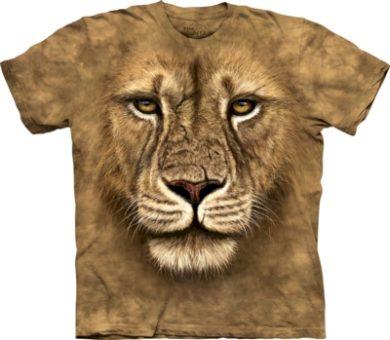 Tričko dětské The Mountain Lion Warrior - béžové, S