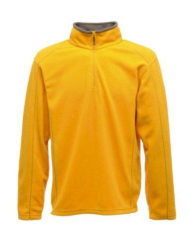 Mikina pánská Regatta Fleece Ashville - žlutá, XXL