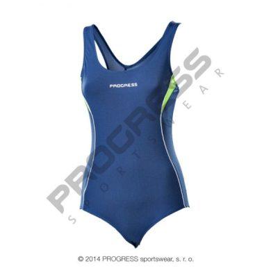 Plavky dámské Progress Orca - modré, 40
