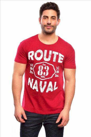 Tričko Spartans History Route Naval - červené, XL