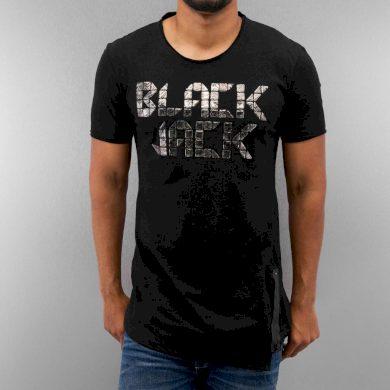 Tričko Just Rhyse Black Jack - černé, L