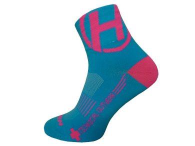 Ponožky Haven Lite Neo 2 ks - modré-růžové, 6-7