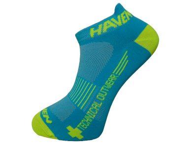 Ponožky Haven Snake Neo 2 ks - modré-žluté, 3-5