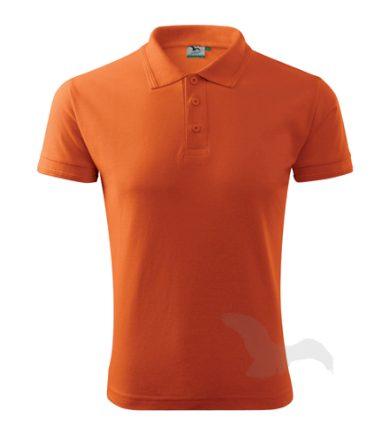 Polokošile Adler Pique Polo - oranžová, 3XL