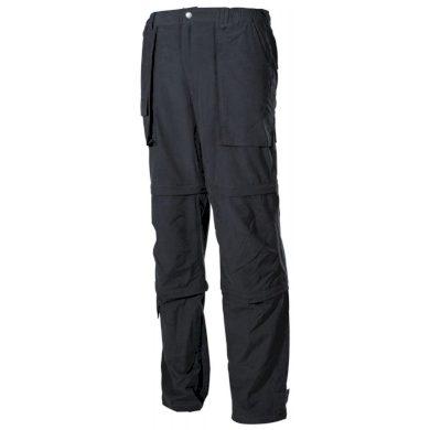 Kalhoty odepínací Fox Microfaser - černé, S