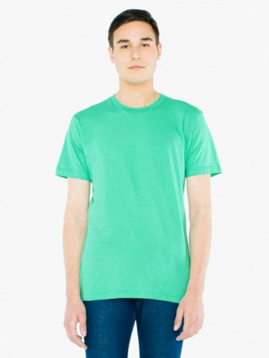 Triko American Apparel Fine Jersey - světle zelené, M
