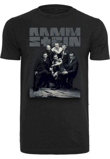 Triko Rammstein Band Photo Tee - černé, S