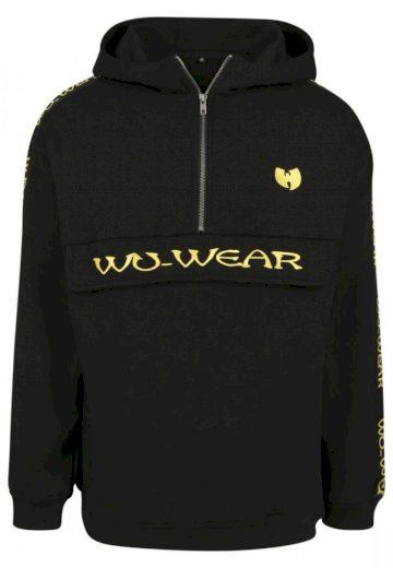 Mikina s kapucí Wu-Wear Pull Over Hoody - černá, S