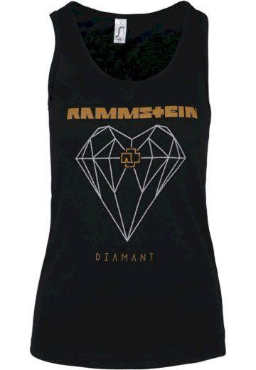 Tílko dámské Rammstein Diamant - černé, XL