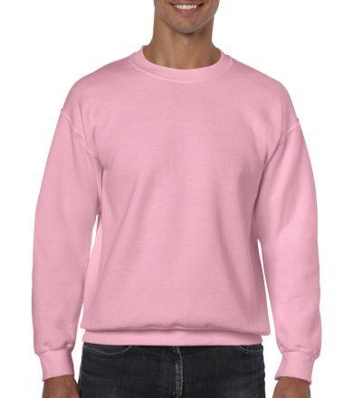 Mikina Gildan Heavy Blend - světle růžová, XL