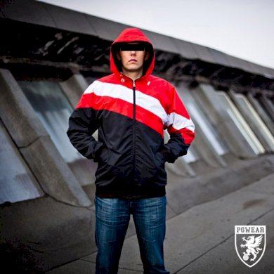 Bunda PGwear Premium Red&White, XL