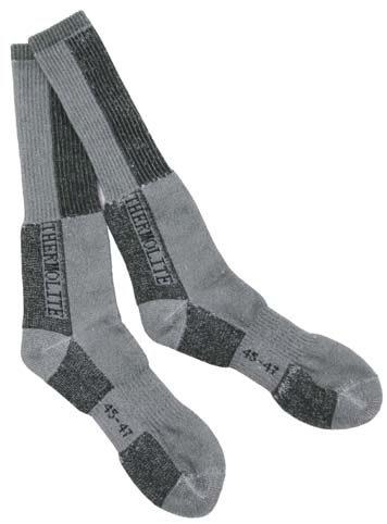 Ponožky zimní Fox Polar - šedé, 45-47