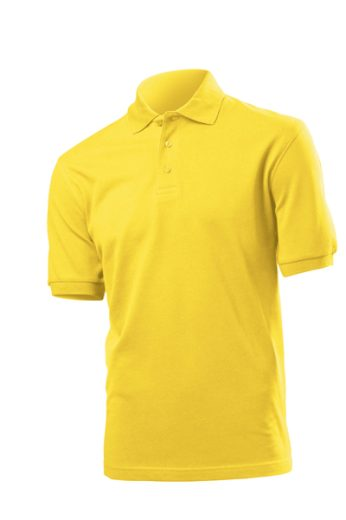 Polokošile Hanes Tagless Organic - žluté, S