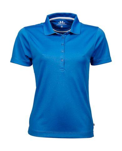 Polokošile dámská Tee Jays Preformance - modrá, 3XL