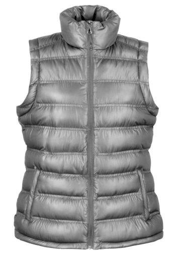 Dámská prošívaná vesta Result Ice Bird - šedá, XL