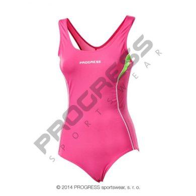 Plavky dámské Progress Orca - růžové, 42