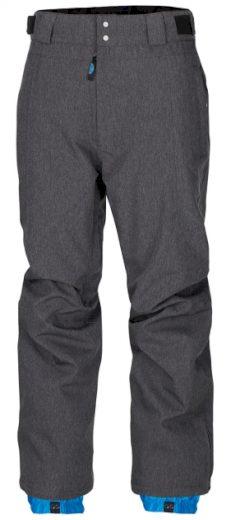 Kalhoty zimní Woox Twill - šedé, XL
