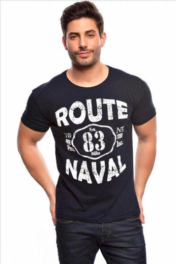 Tričko Spartans History Route Naval - navy, XL