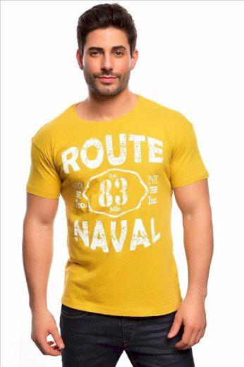 Tričko Spartans History Route Naval - žluté, XL