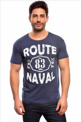 Tričko Spartans History Route Naval - šedé, XL