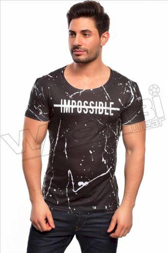 Tričko Wasabi Impossible - černé, XL