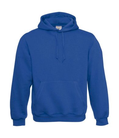 Mikina B&C Standard Hooded - modrá, M