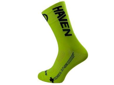 Ponožky Haven Lite Neo Long 2 ks - žluté-černé, 3-5