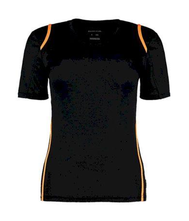 Tričko dámské Gamegear Cooltex - černé-oranžové, XL